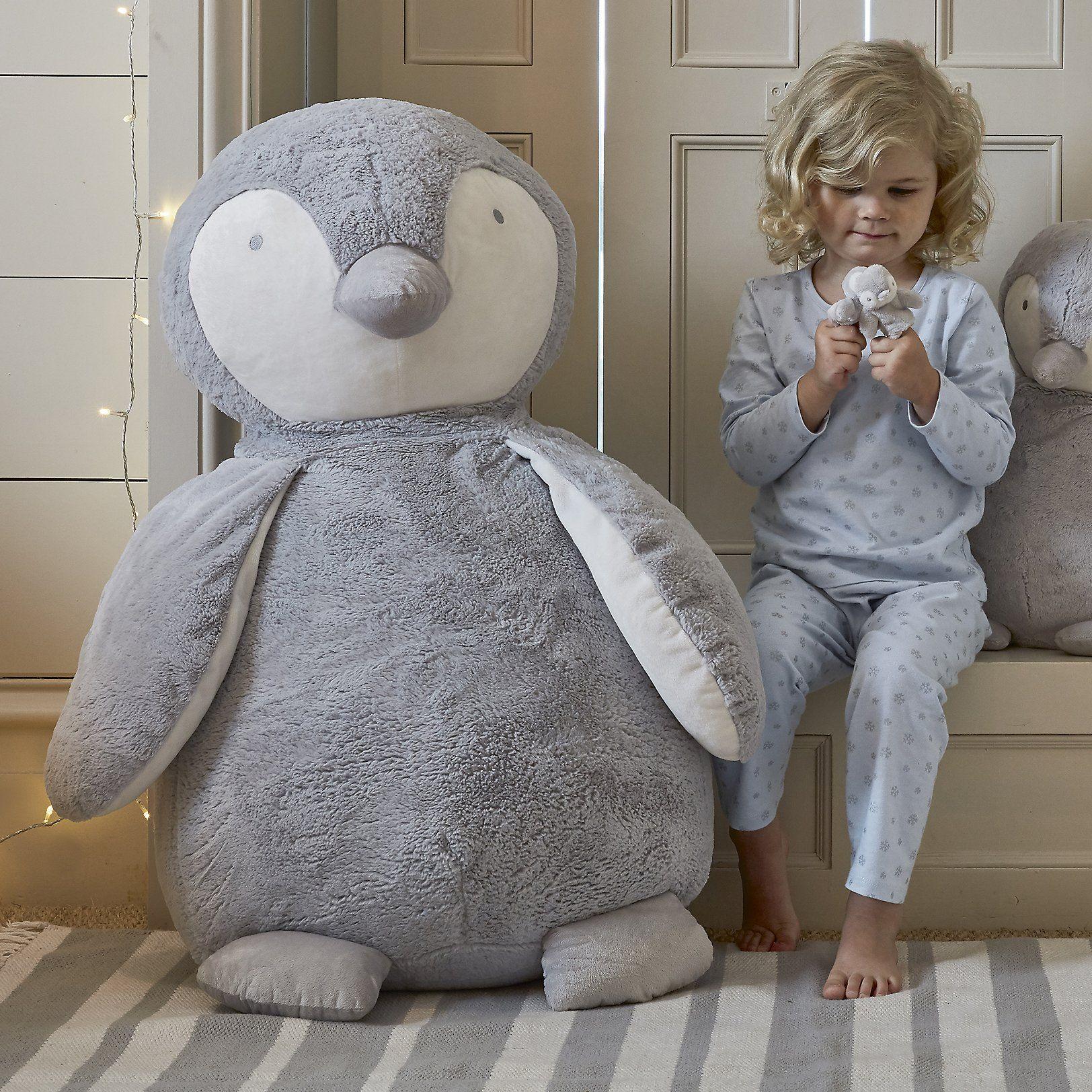 Giant Snowy Penguin The Little White Company The White Company Little White Company The White Company Penguin Bedroom