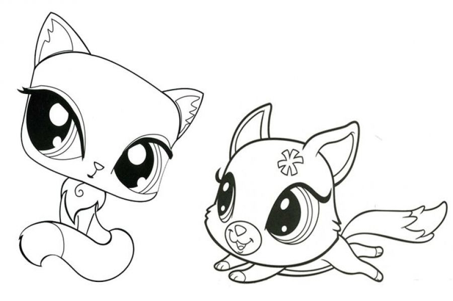 Free printable Littlest Pet Shop coloring pages for kids | Animal ...