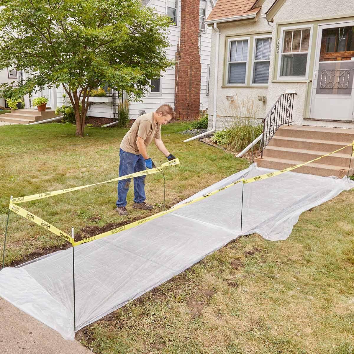 Resurfacing a Sidewalk is Easy to DIY   Home Solutions