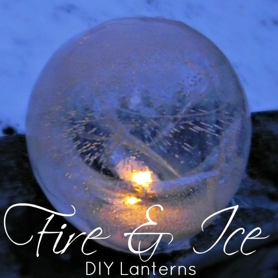 diy fire ice lanterns diy weihnachtsgeschenke. Black Bedroom Furniture Sets. Home Design Ideas