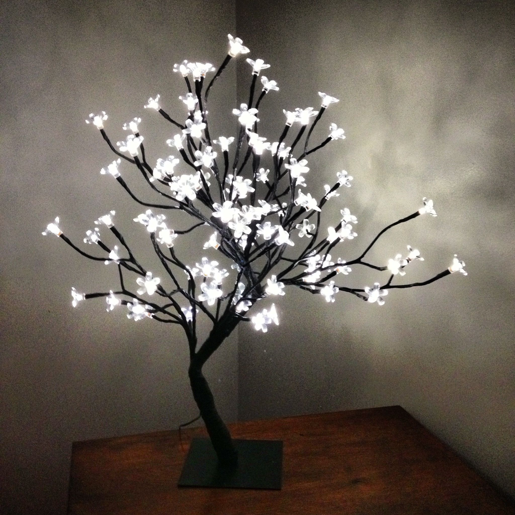 Tree Lamp With Light Up Flowers Tree Lamp Flower Lamp Lamp