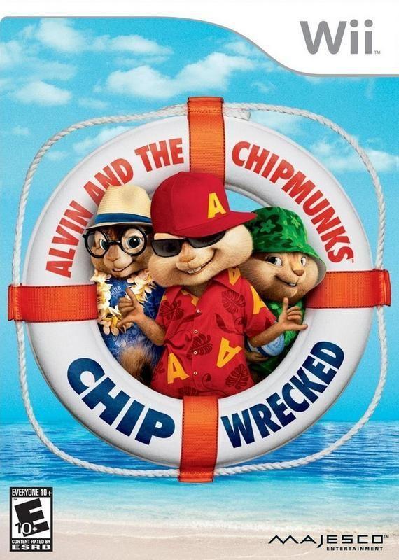 Alvin Und Die Chipmunks Chipwrecked Wii En 2020 Con Imagenes