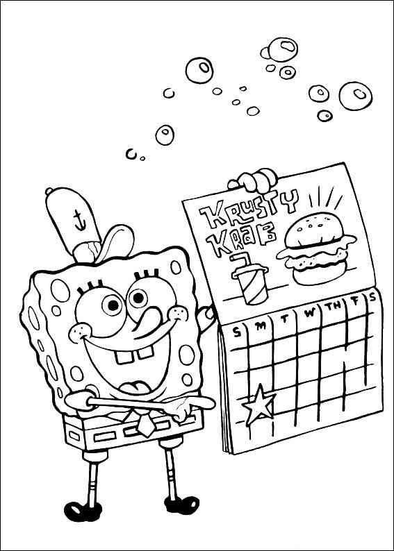 Spongebob 72 Ausmalbilder Pc Dekstop Full Hd Wallpapers Spongebob Coloring Spongebob Coloring Pages