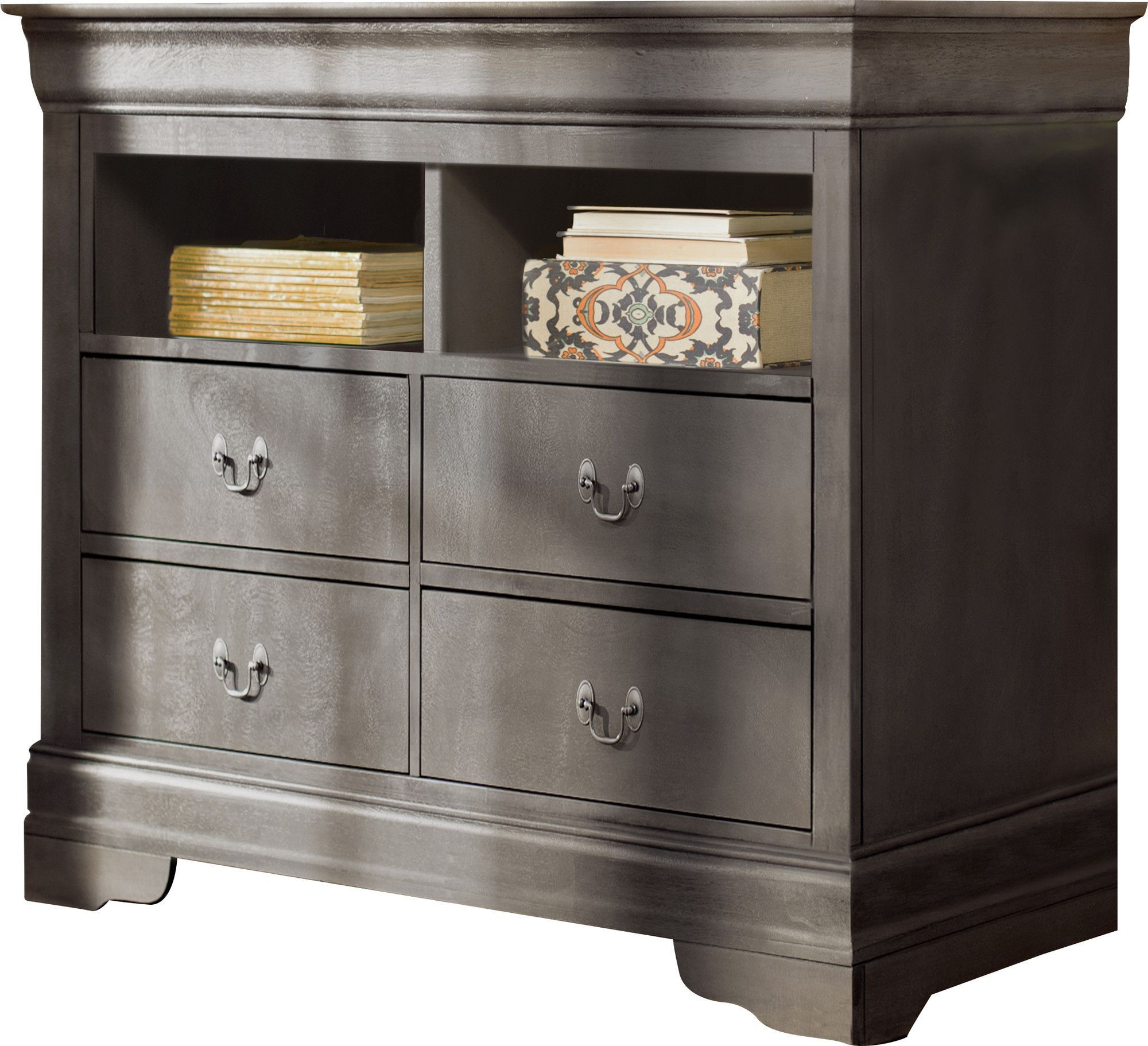 Babcock 4 Drawer Media Chest Furniture Iron Canopy Bed Tv In Bedroom