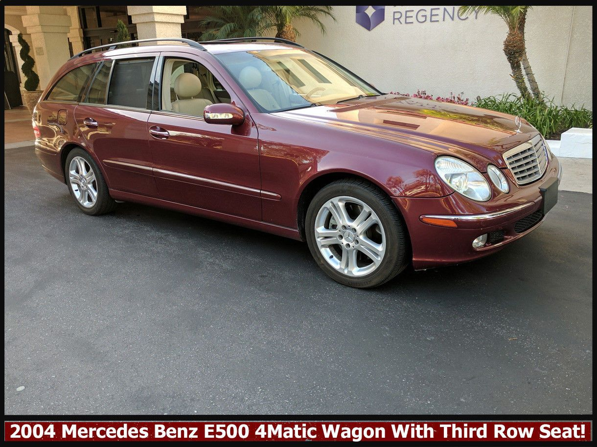 Cool Great MercedesBenz EClass E Matic RARE - Cool cars with 3rd row seating