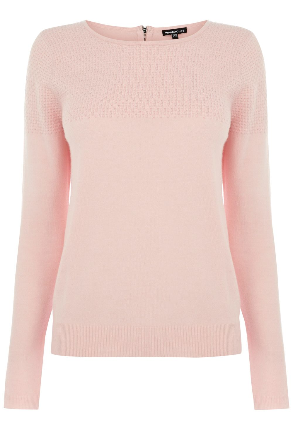 pastel pink sweater I own