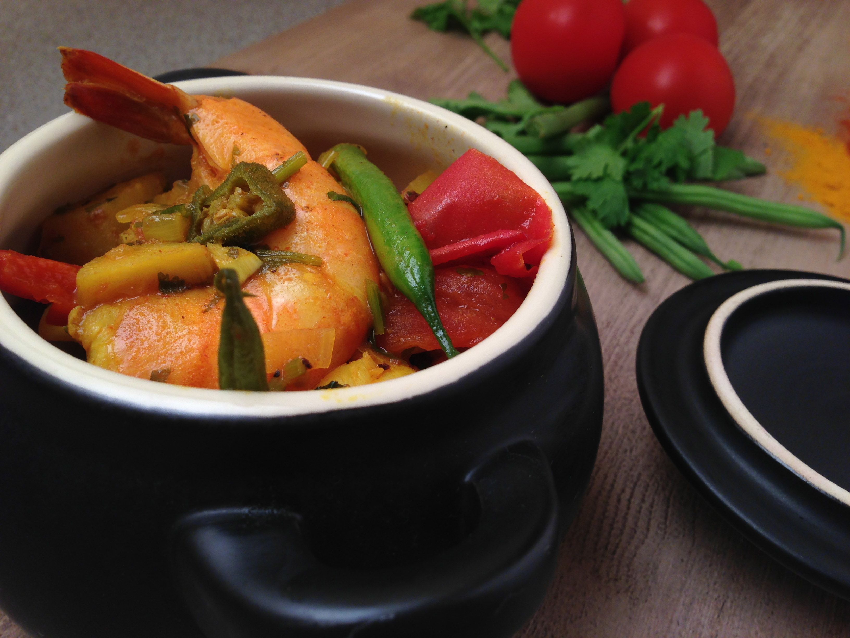 Get the full recipe here for our Coconut Prawn Curry. Not only that but you'll get the full nutritional information breakdown.