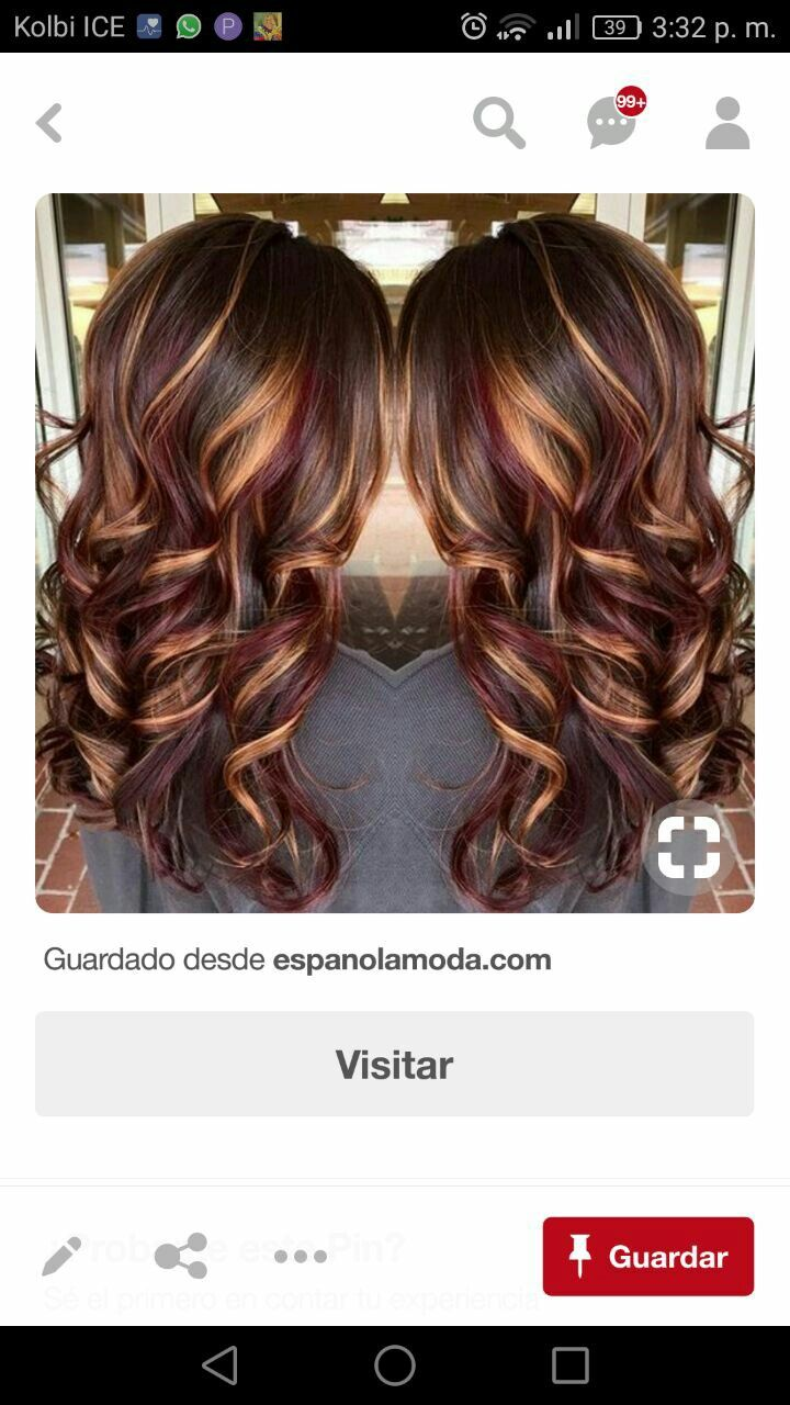 Pin by maria munoz on cortépeinadocolor pinterest
