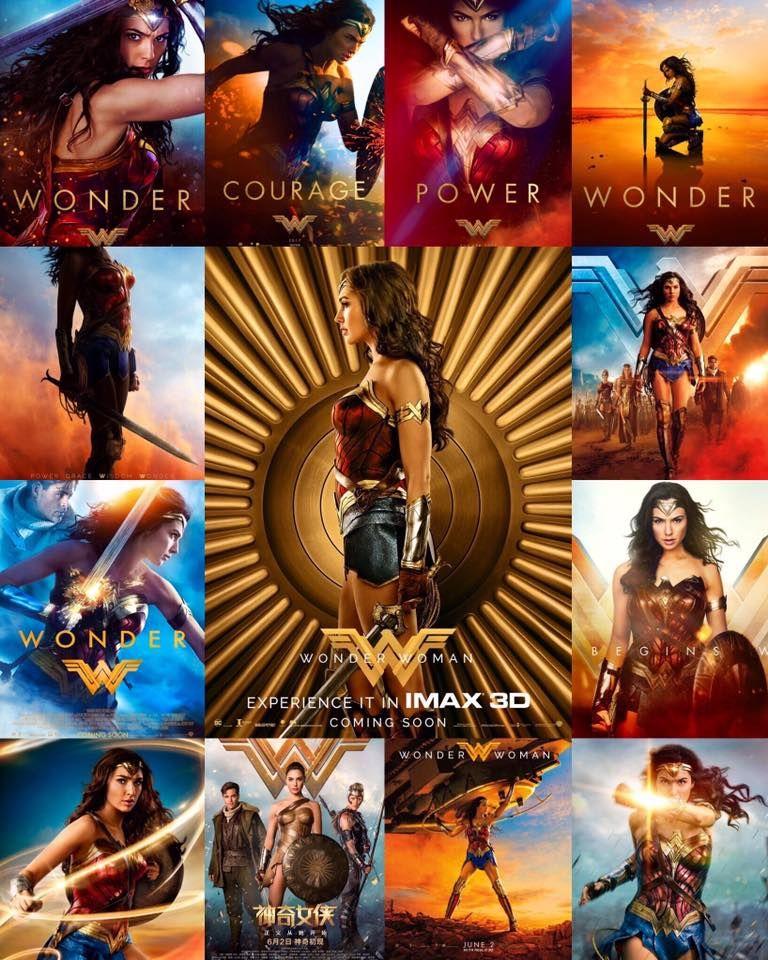 All Poster Of Wonder Woman 2017 Wonder Woman Movie Superman Wonder Woman Gal Gadot Wonder Woman