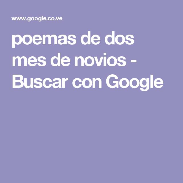 poemas de dos  mes de novios - Buscar con Google