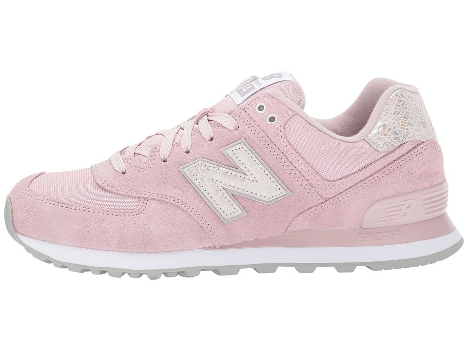 official photos cf835 3755e New Balance Classics WL574 Shattered Pearl Women's Lace up ...
