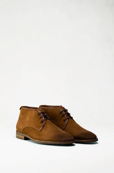 b3778453d96 SUEDE ANKLE BOOT - Shoes - Sale - MEN - United Kingdom