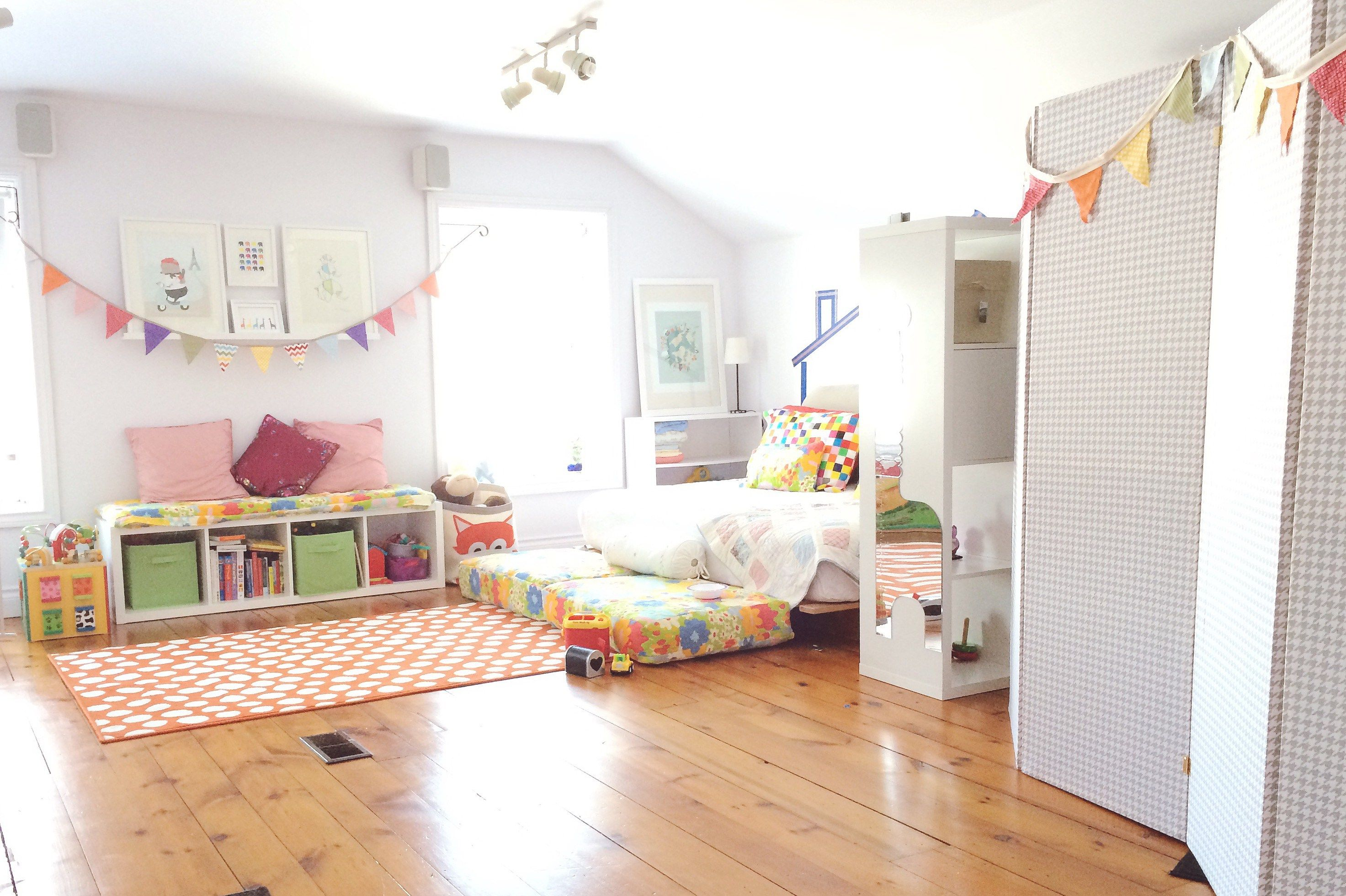 Most Seen Inspirations Featured In Designing Splendid Attic Playroom For  Our Beloved Children