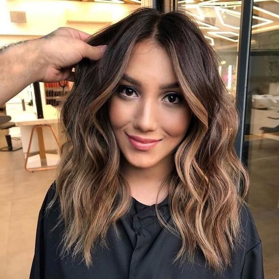 Dark Brown Human Hair Ombré Lace Front Balayage So