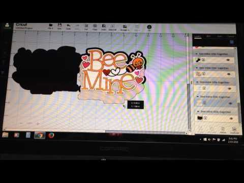 Creating a Shape Card with Cricut Design Space and an SVG - YouTube