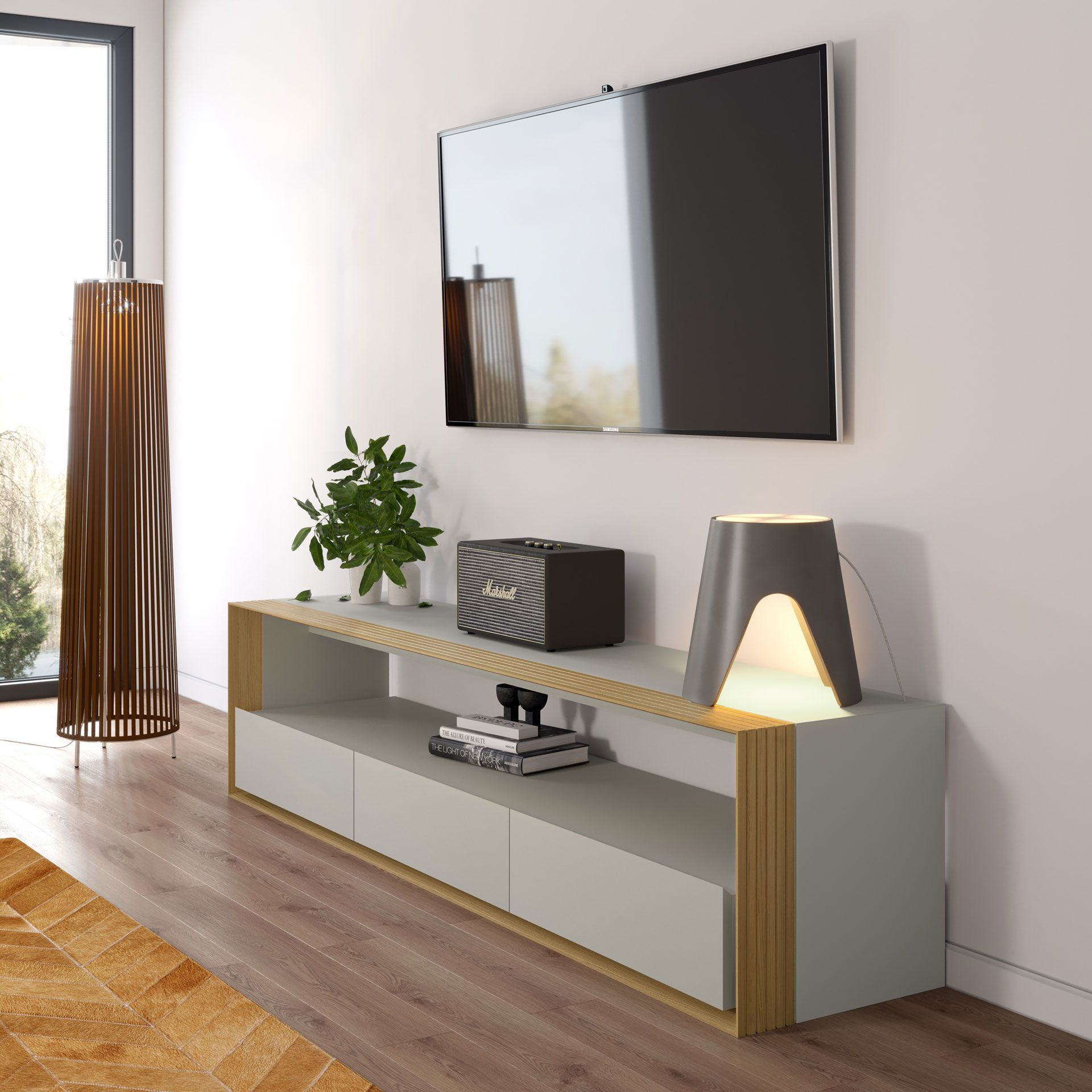 With The Prestige Of A Centerpiece Our Beckenham Media Console