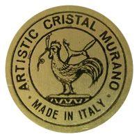 Generic Murano glass foil label.