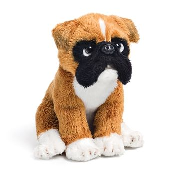 Small Sitting Stuffed Boxer By Nat And Jules Dog Beanie Pet