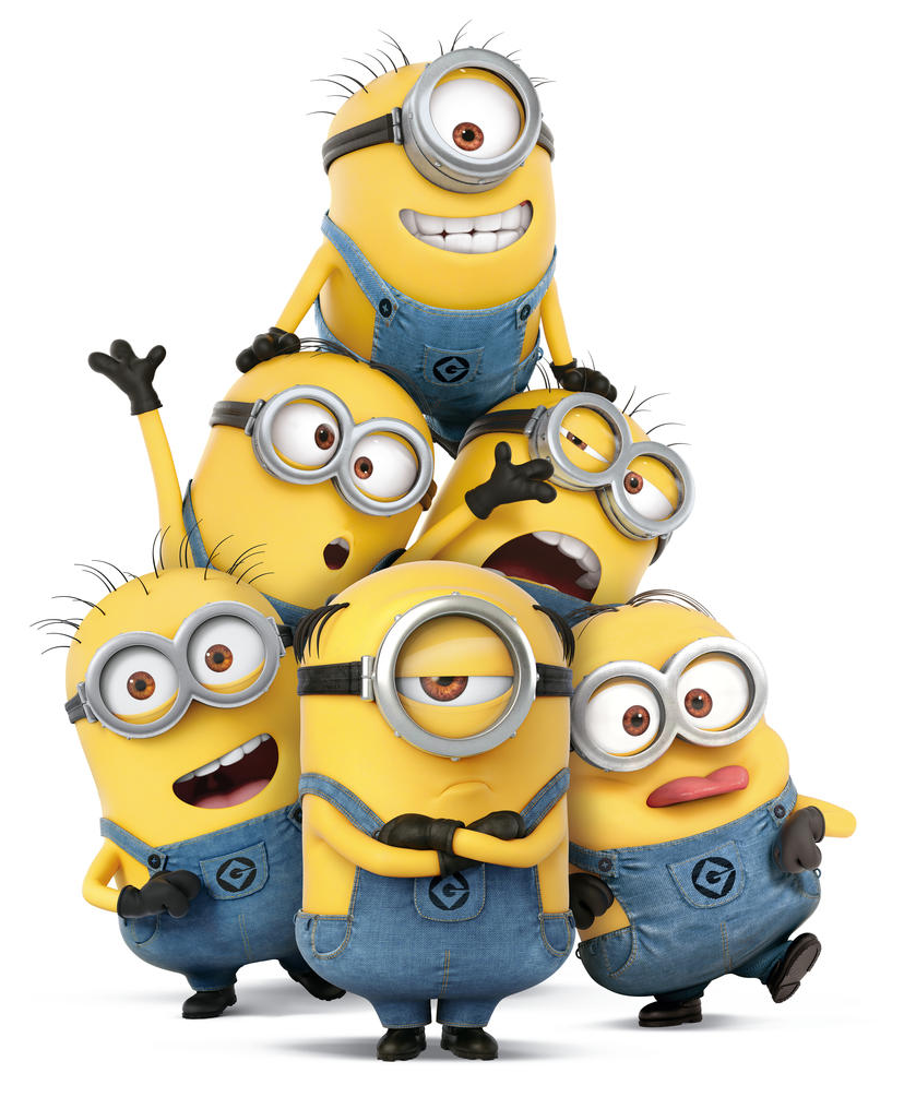Minions are the characters from Despicable Me.