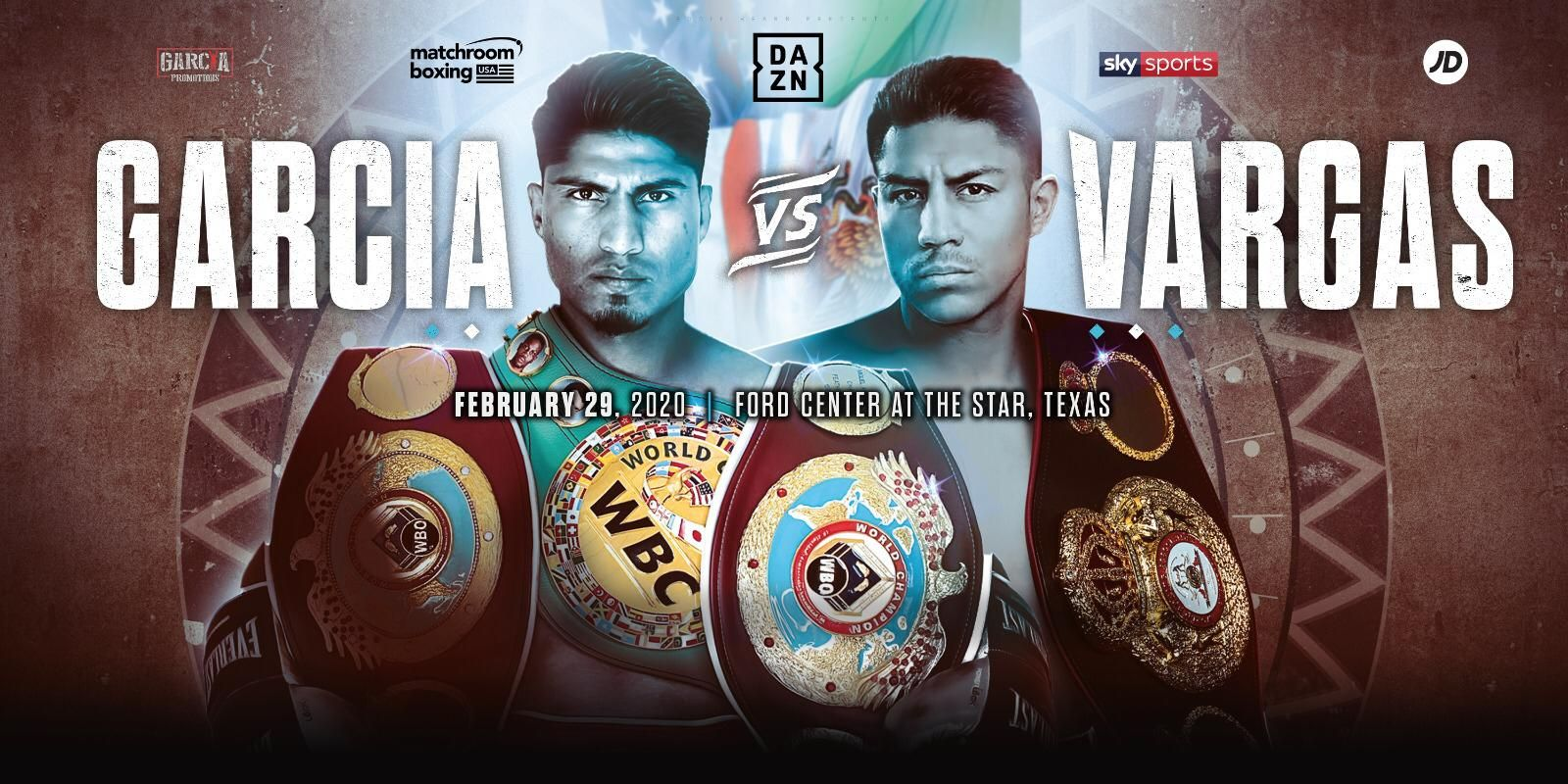 Mikey Garcia vs. Jesse Vargas Is Official News