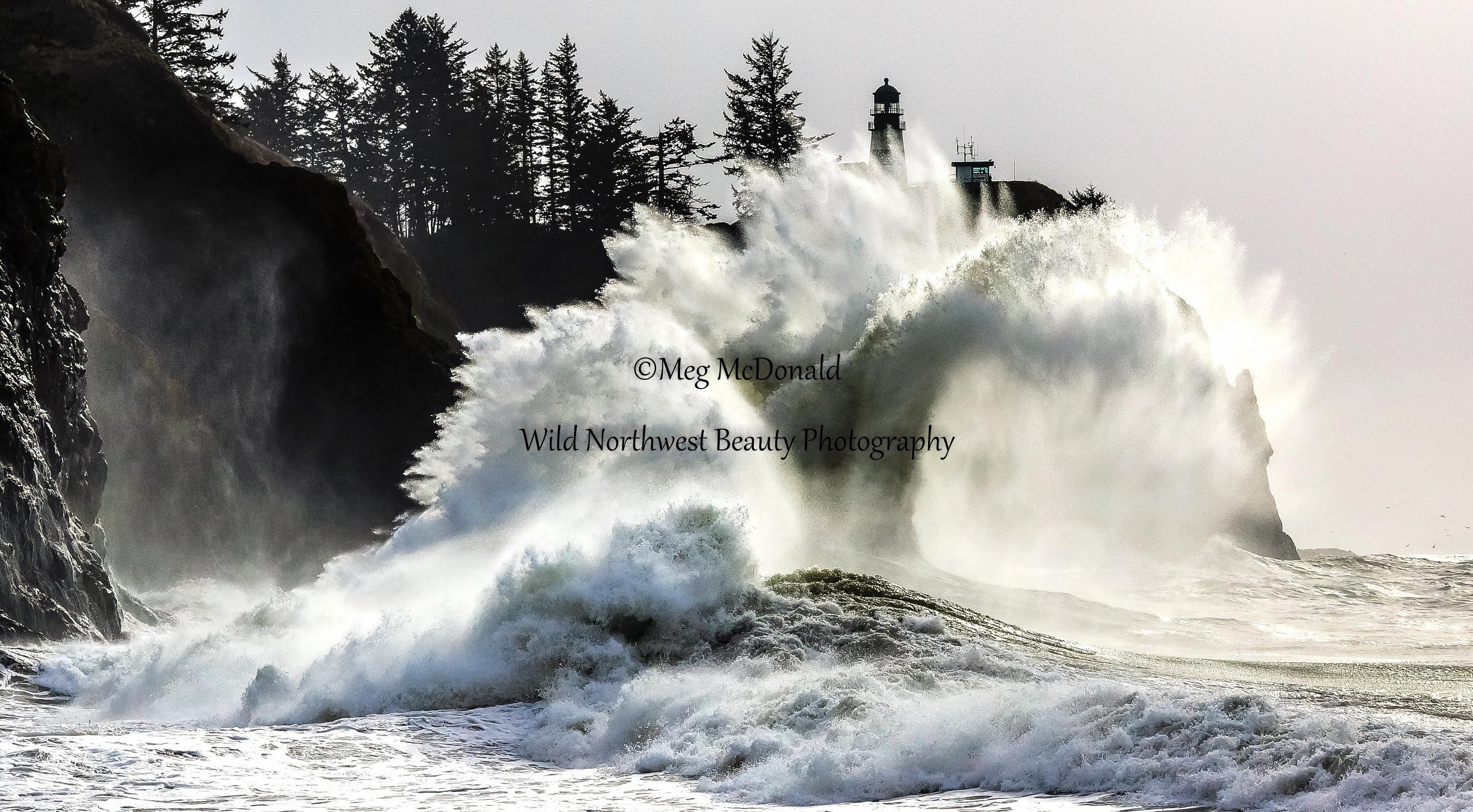 Incredible Stunning Massive Pacific Ocean Waves At Cape