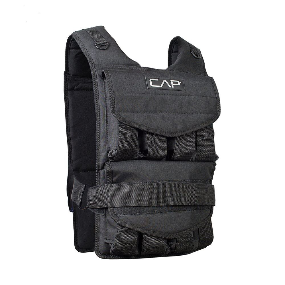 Cap barbell adjustable weighted vest40 lb one size fits