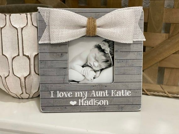 Personalized Gift For Aunt | I Love My Aunt Gift | Aunt Picture Frame | Personalized Gift For Aunt #pictureplacemeant