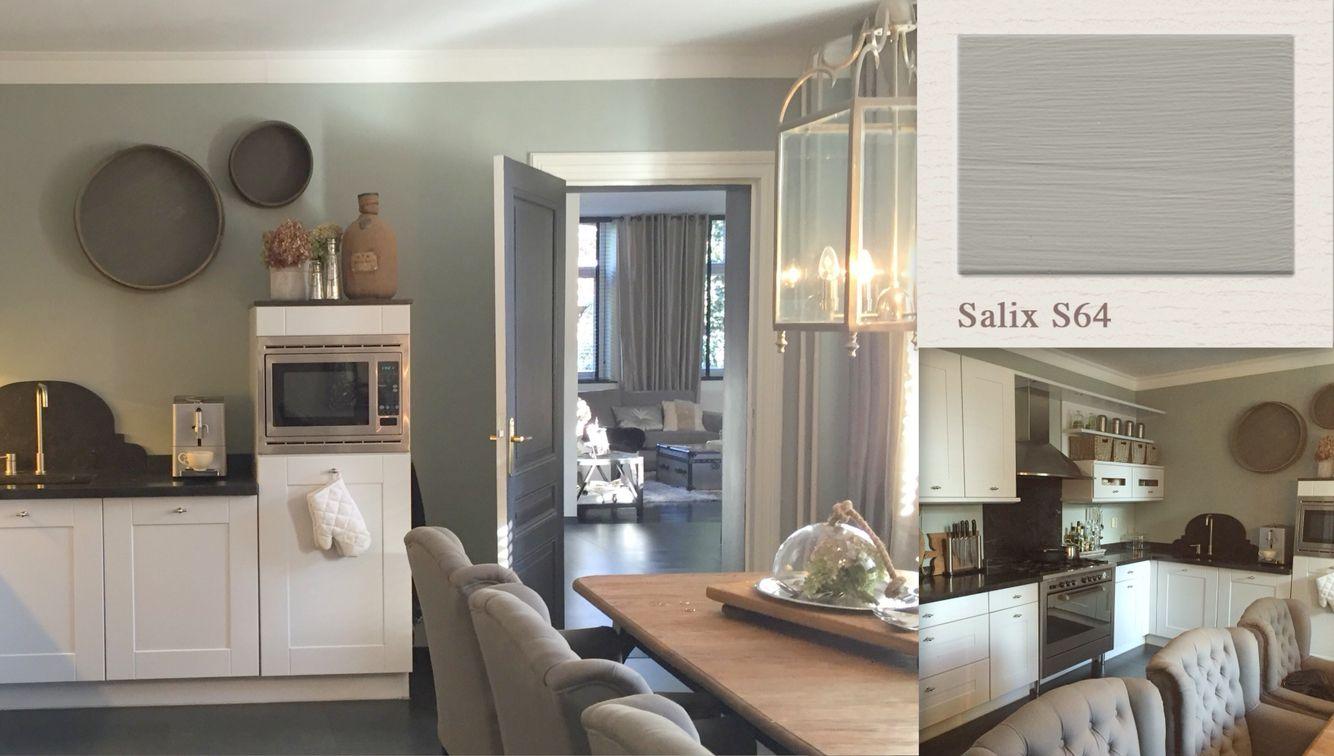 Salix Wallcolour By Painting The Past Interieur Muurkleuren Huis