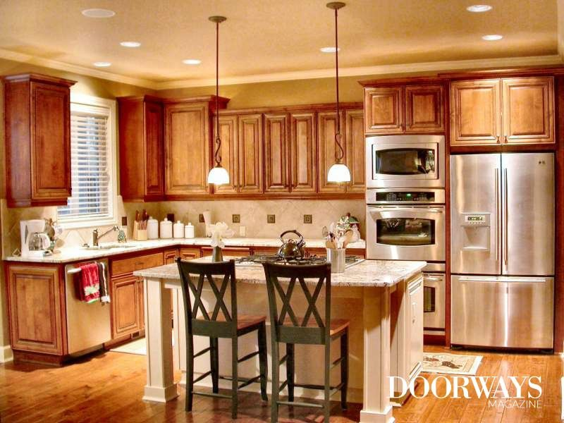Before You Start Painting Kitchen Cabinets See What We Discovered About Rustoleum Cabinet Tra Oak Kitchen Cabinets New Kitchen Cabinets Kitchen Cabinet Design