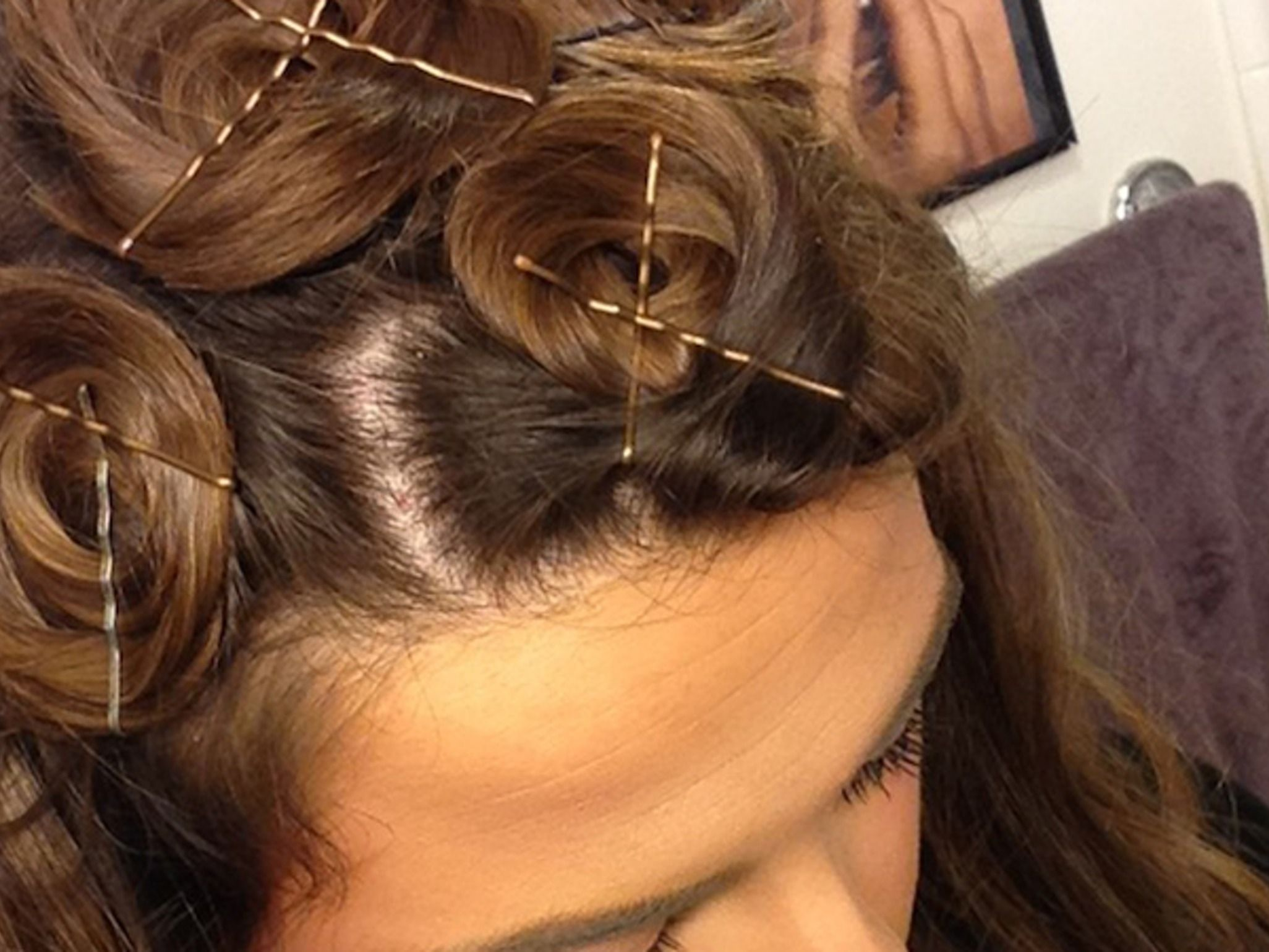 How to curl your hair in your sleep curling straight hair