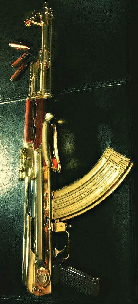 Golden ak i mean why not arme feu protection et positions pinterest pistolet la mort - Arme a feu pas cher ...
