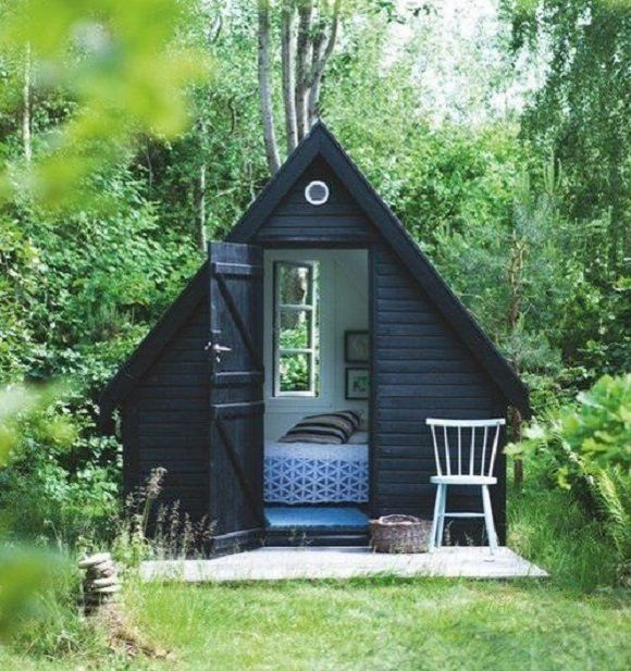 Salvaged Wood shed