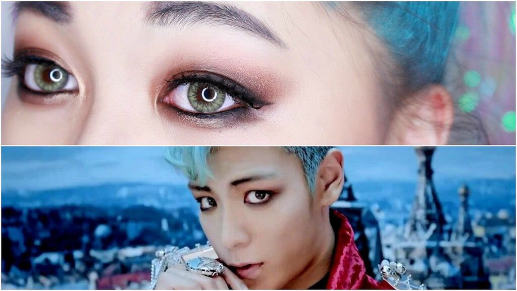 Kpop Male Idol Eye Makeup