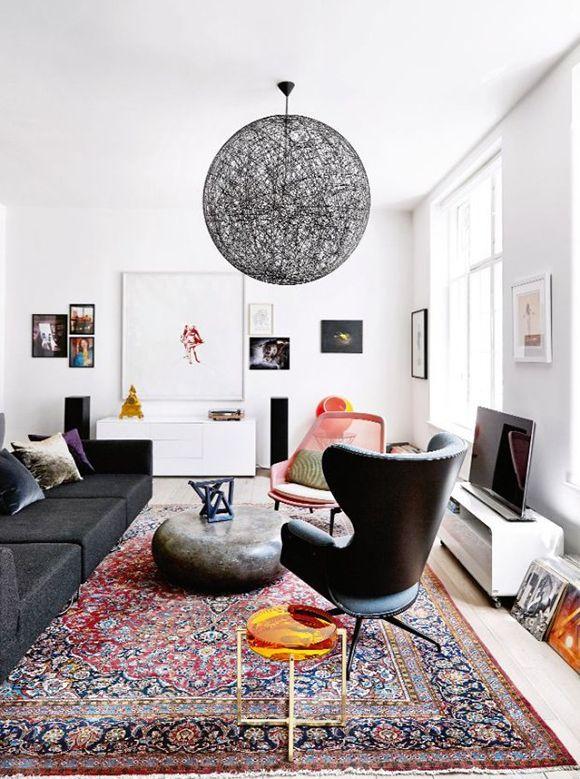 Teppich Wohnzimmer, Perserteppich