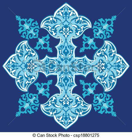 oriental ottoman design thirty one - csp18801275