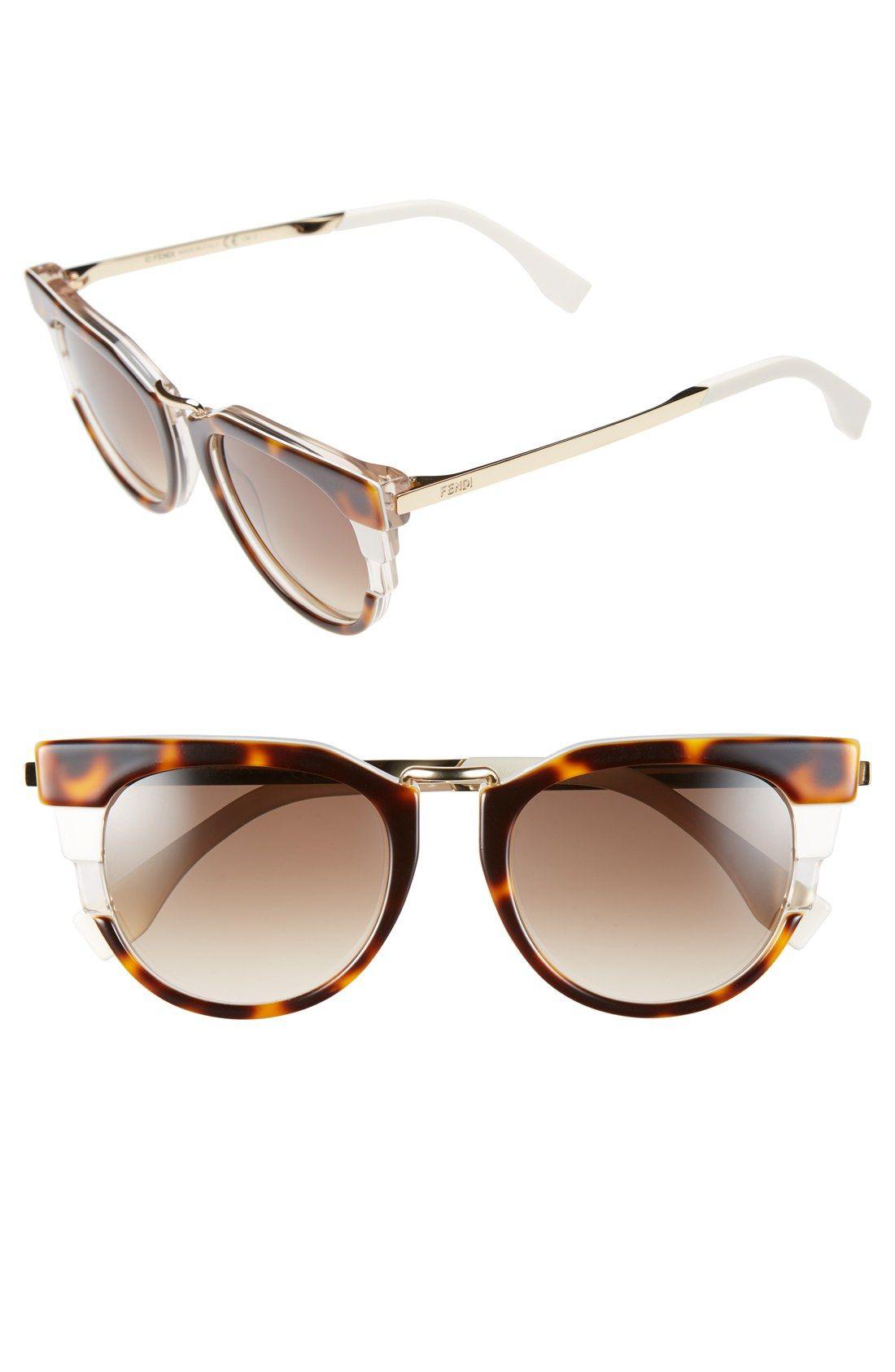 5c37fb1337d Fendi 52mm Retro Sunglasses