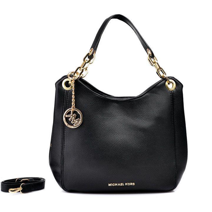 82382c5cb857 Michael Kors Bedford Large Black Shoulder Bags | Birthday Wishes ...