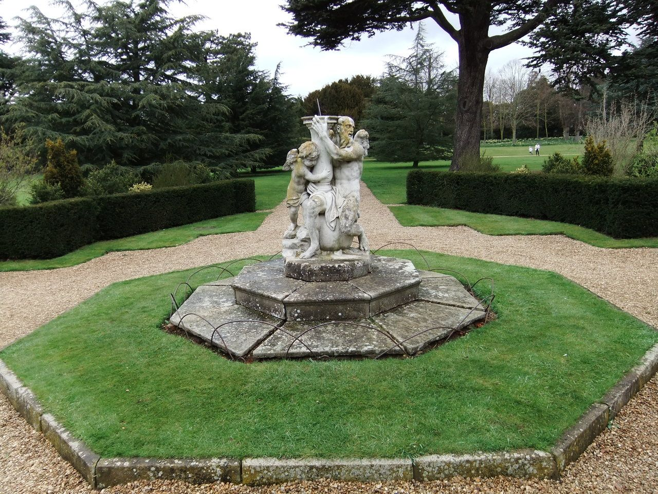 Formal Garden 01 - Sundial Statue by fuguestock This item is a great ...