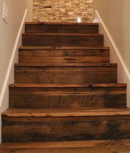 Stairs · Reclaimed Oak Stair Treads Custom ...