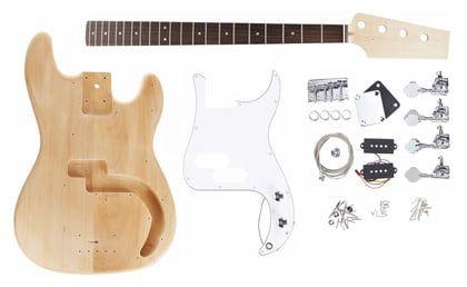 Harley Benton Bass Guitar Kit P Style Fender P Bass Bass Bass