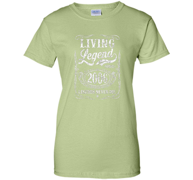 Living Legend Since 2006 T Shirt - Legends Never Die TShirt