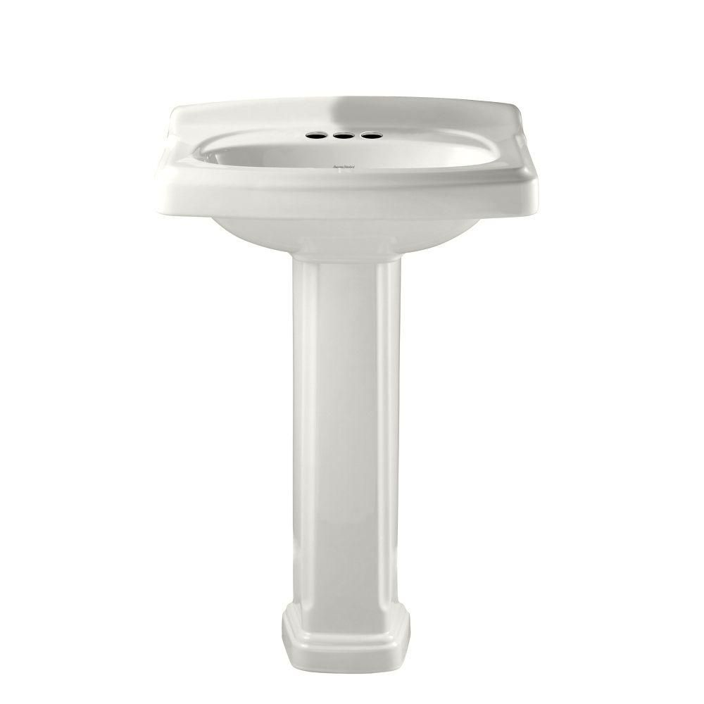 American Standard Portsmouth Vitreous China Pedestal Combo Bathroom ...