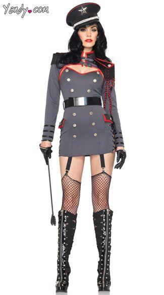 Female domination costumes