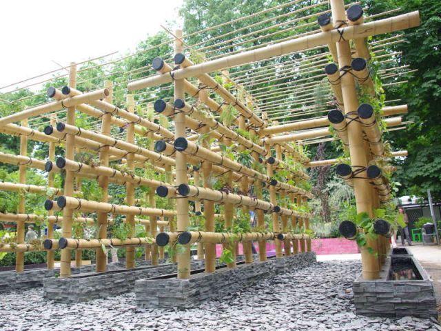 Les tendances 2011 des jardins en ville | Potager vertical ...