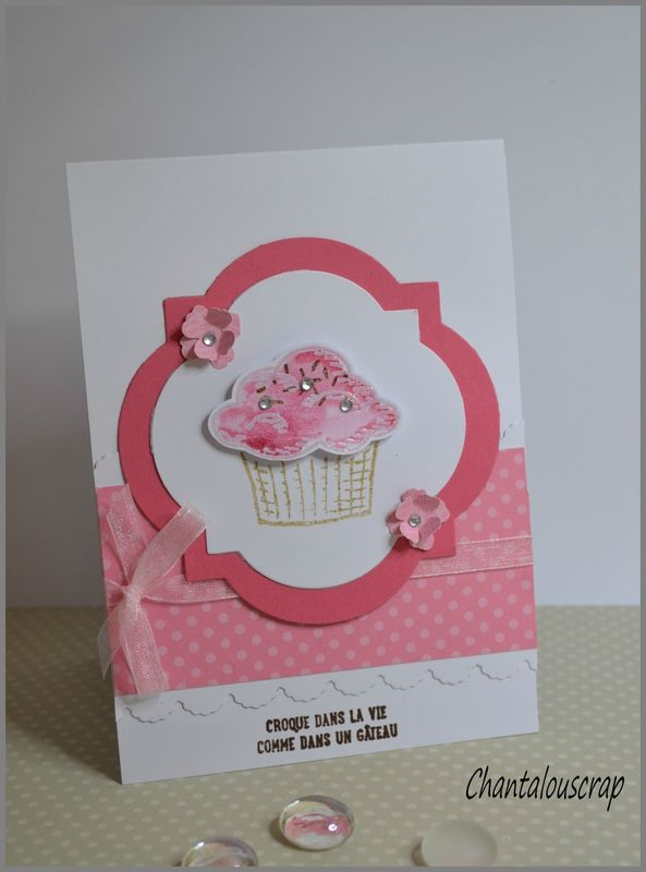 Joyeux anniversaire Gwendoline .... Croque dans la vie comme dans un gâteau !