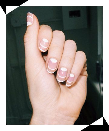9 Negative Space Nail Art Looks to Copy Now | White manicure ...