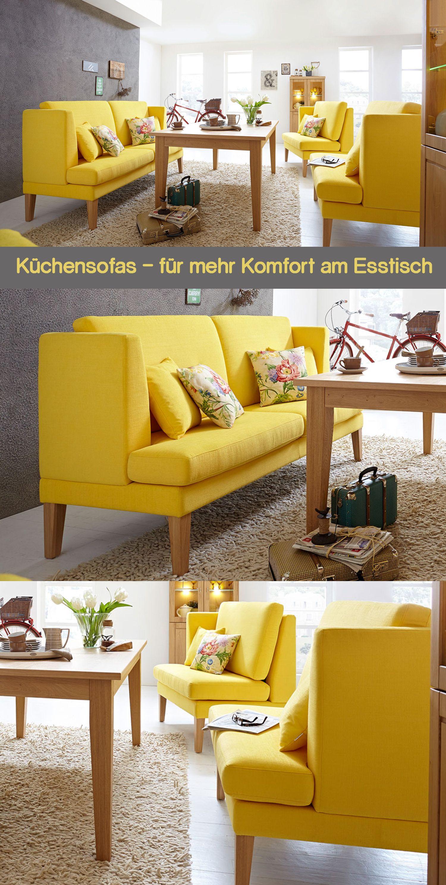 Küchensofas - für mehr Komfort am Esstisch | Küchensofas sind ...
