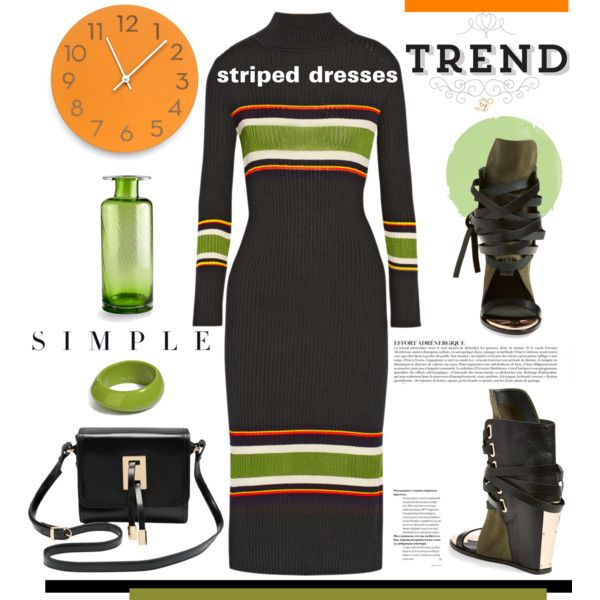 Trend fashion: Striped Dresses