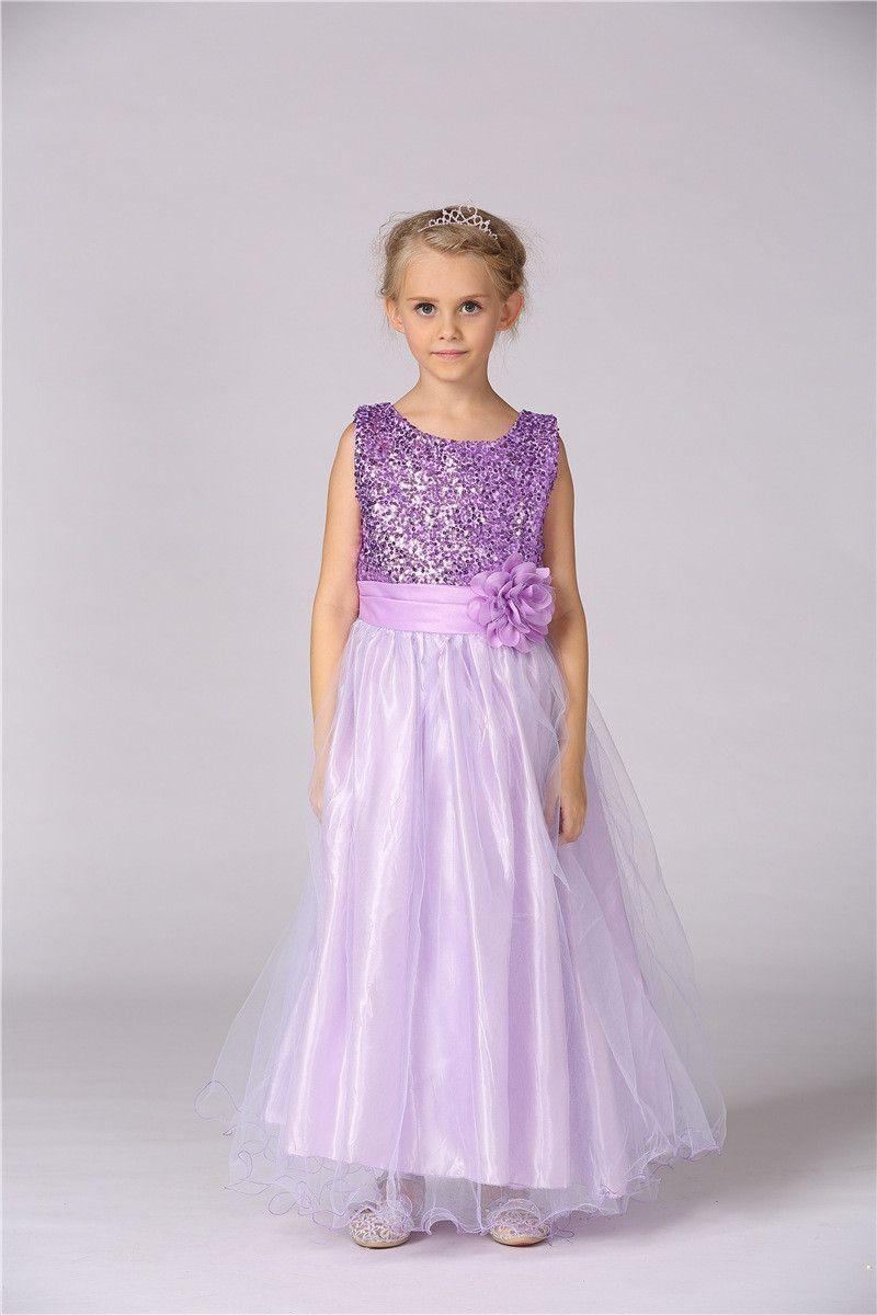Baby girls kids toddler children princess formal full long tutu