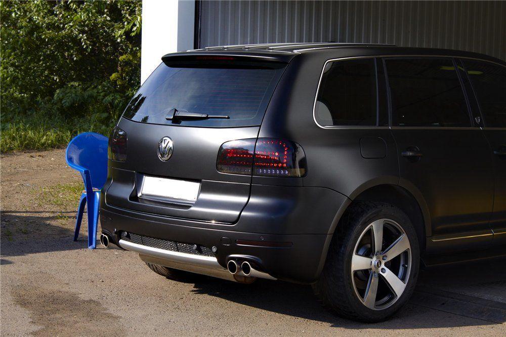 matte black touareg led tail lights VolkswagenTouareg